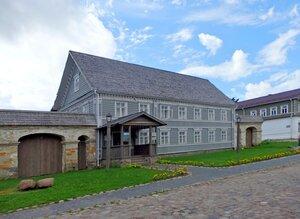 Купеческий дом в Изборске.