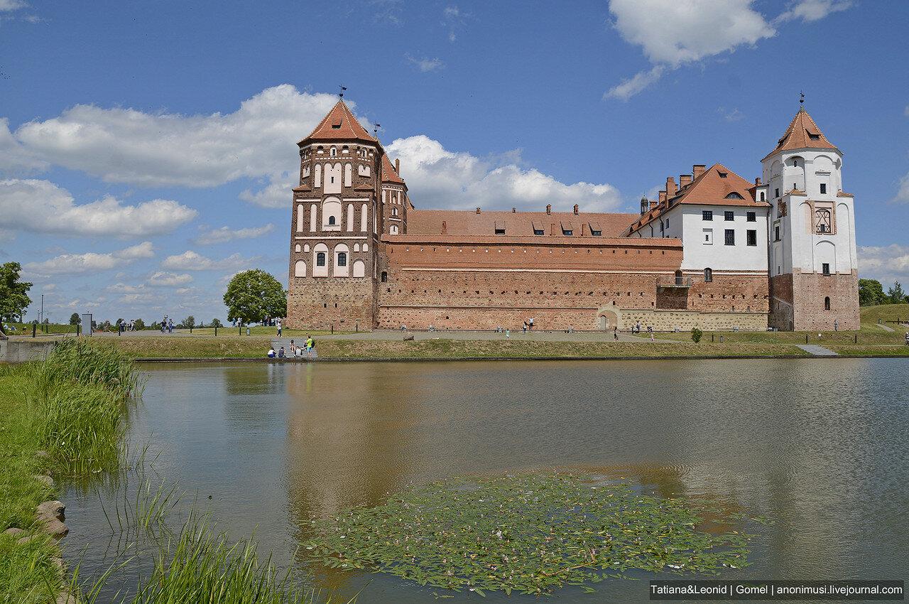 Мирский замок. Гродненская область. Беларусь