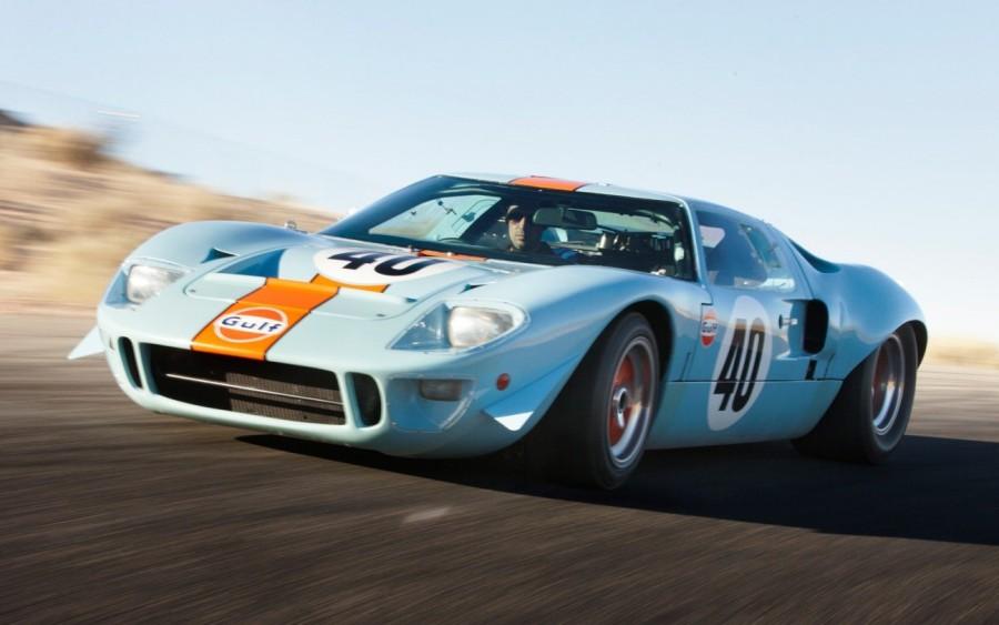 14. «Ford GT40»: годы выпуска с 1964 по 1969 Чтобы создать автомобиль, который смог бы столкнуть «Fe