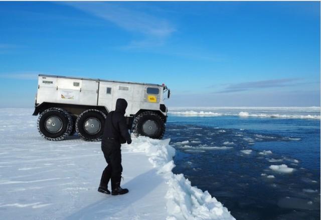 Проверка в полярных условиях показала, что машина сконструирована правильно, требуются лишь незначит