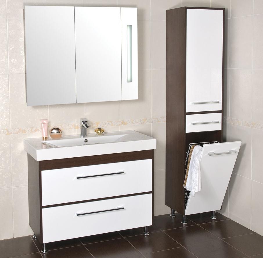 Мойдодыры для средних и больших ванных комнат — как выбрать? (1 фото)