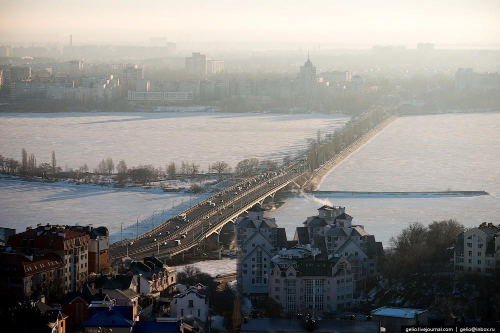 Воронежское водохранилище — самое крупное в Центральном Черноземье.
