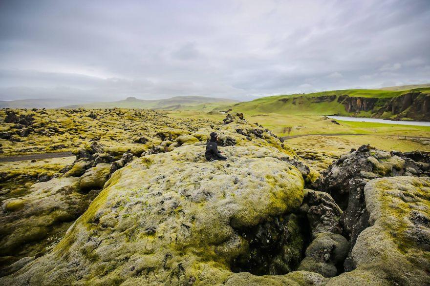 8 Видели невероятные исландские зеленые поля