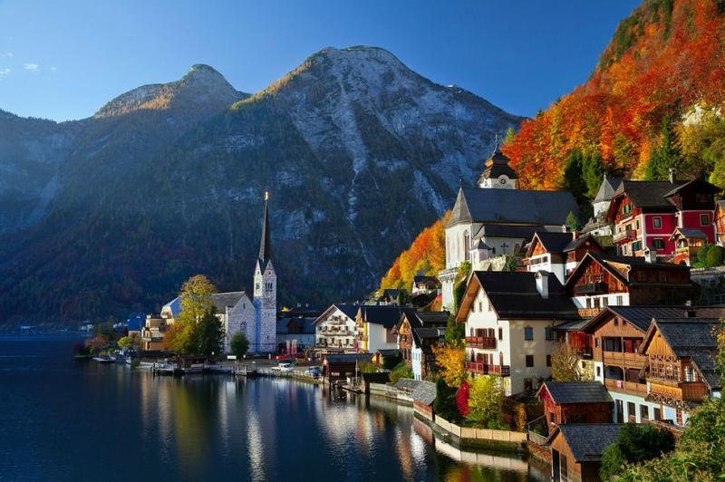 Самые красивые деревни и маленькие города Европы: Гальштат, Австрия