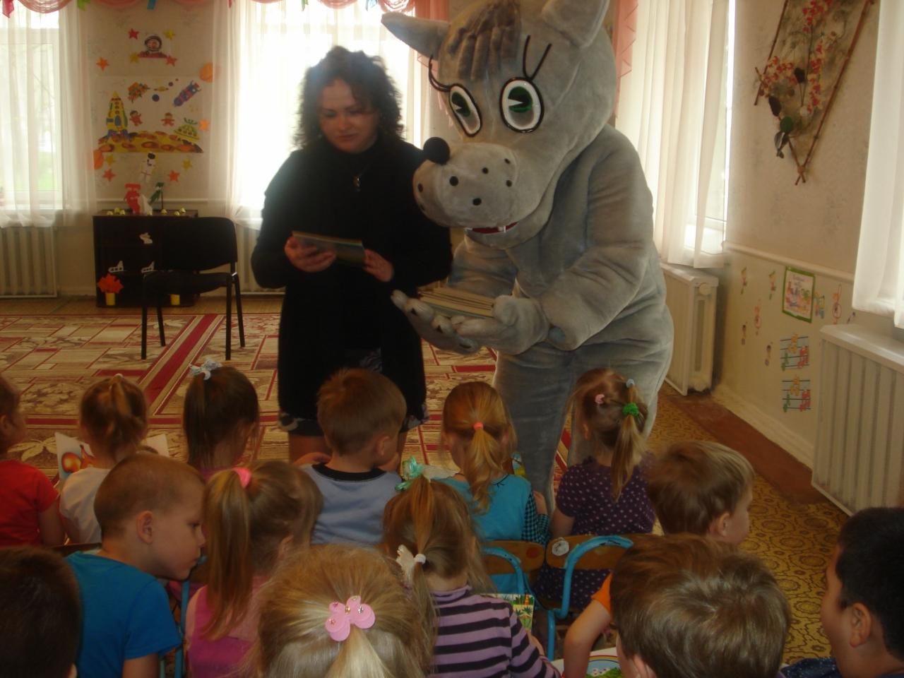 зеленый шум,донецкая республиканская библиотека для детей,пропаганда чтения,занятия с детьми,весна,чтение