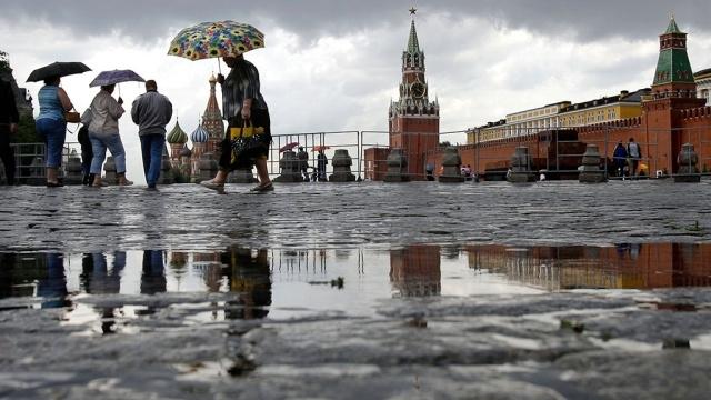 Из-за дождя в столице России квечеру будут сильные пробки