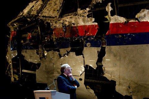 Рядом супавшим вДонбассе Boeing ненаблюдалось никаких сторонних объектов