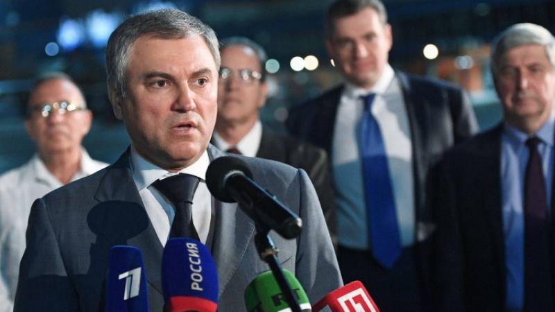 Володин: пустьЕС оценит, как «европейская» Украина громит русские банки