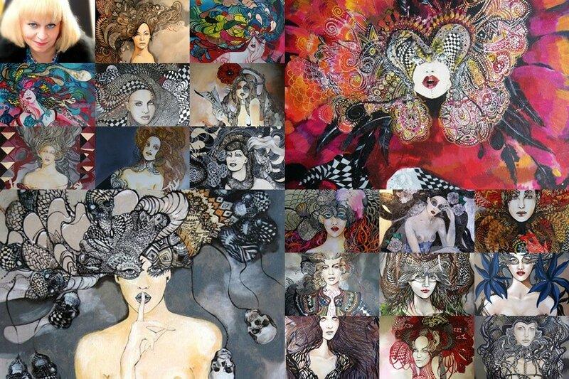 Maggie Piu: Яркие женщины на иллюстрациях польской художницы