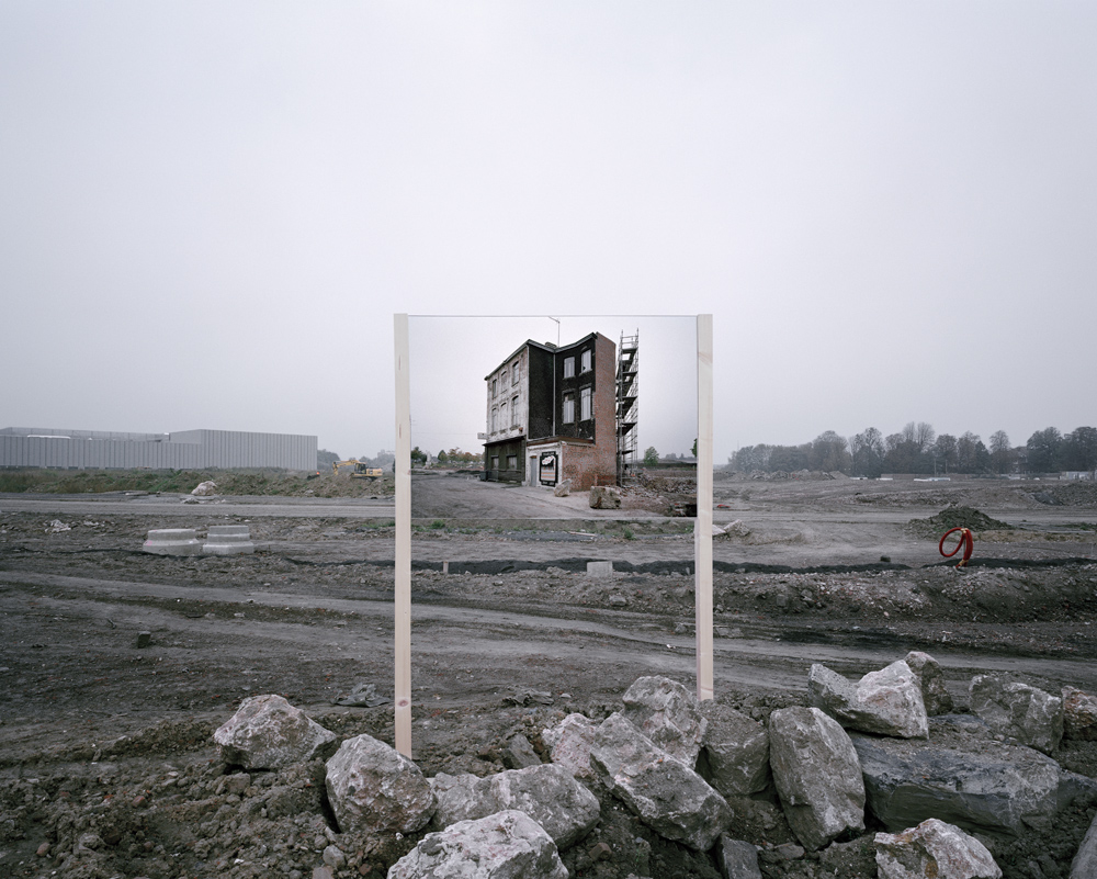 Photographer Guillaume Amat Places Mirrors Into Industrial and Natural Landscapes to Look Both Beyond and Behind