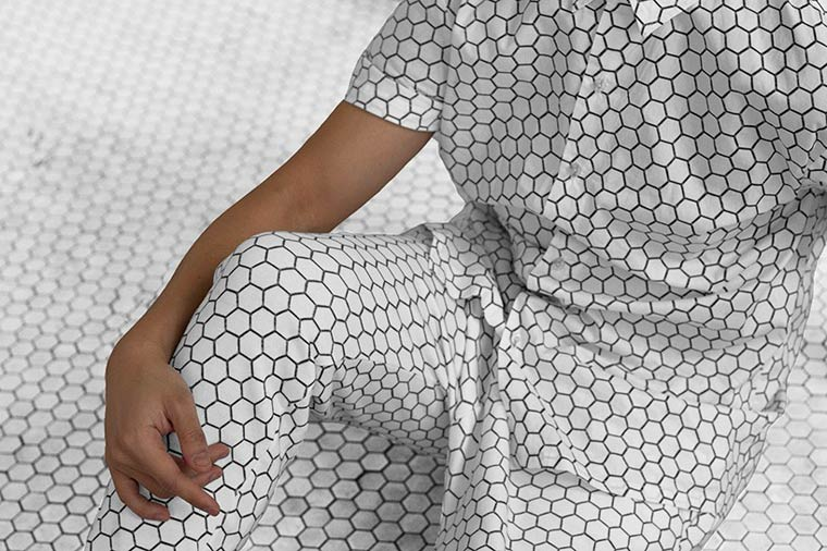 Architectural Camouflage - Amazing clothes with urban patterns by Snarkitecture