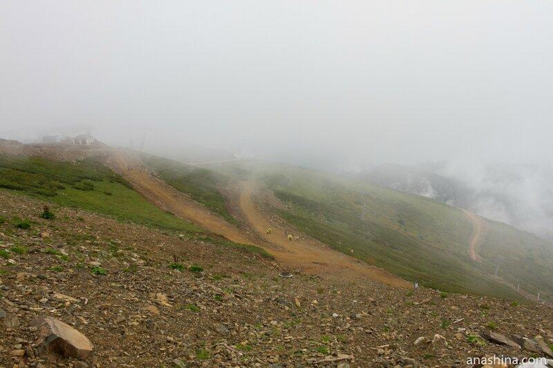 Облака, Роза Хутор, Сочи