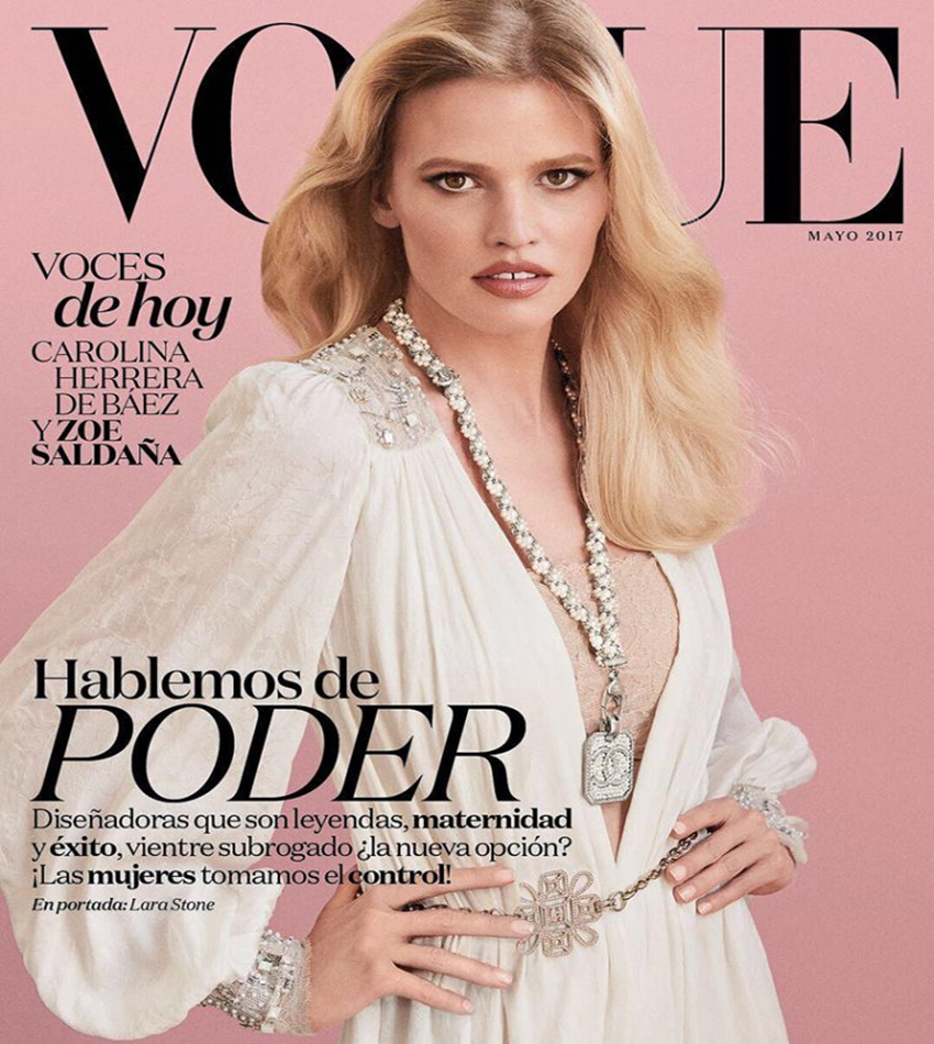 lLara Stone - Vogue Mexico / Latin America (May 2017)