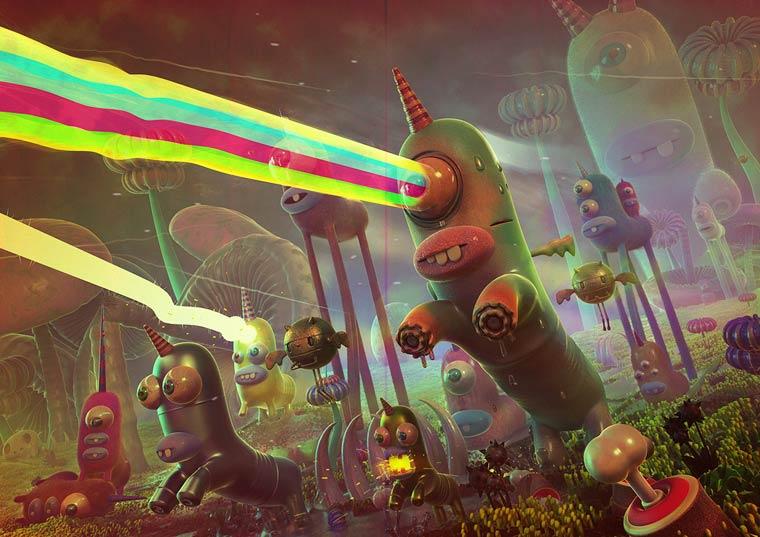 Plastic Nation - The pop and acidulated creations of Jonathan Ball