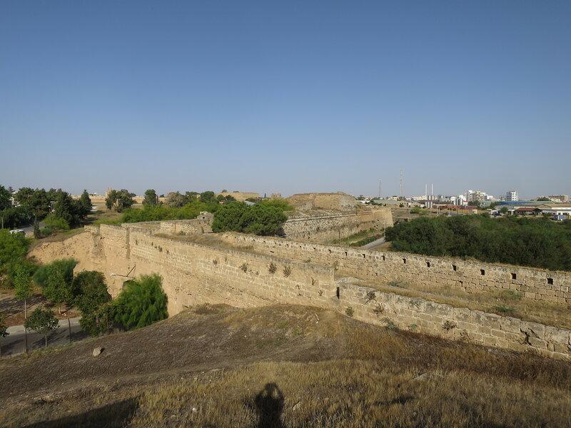 Фамагуста. Город. Северный фронт стены