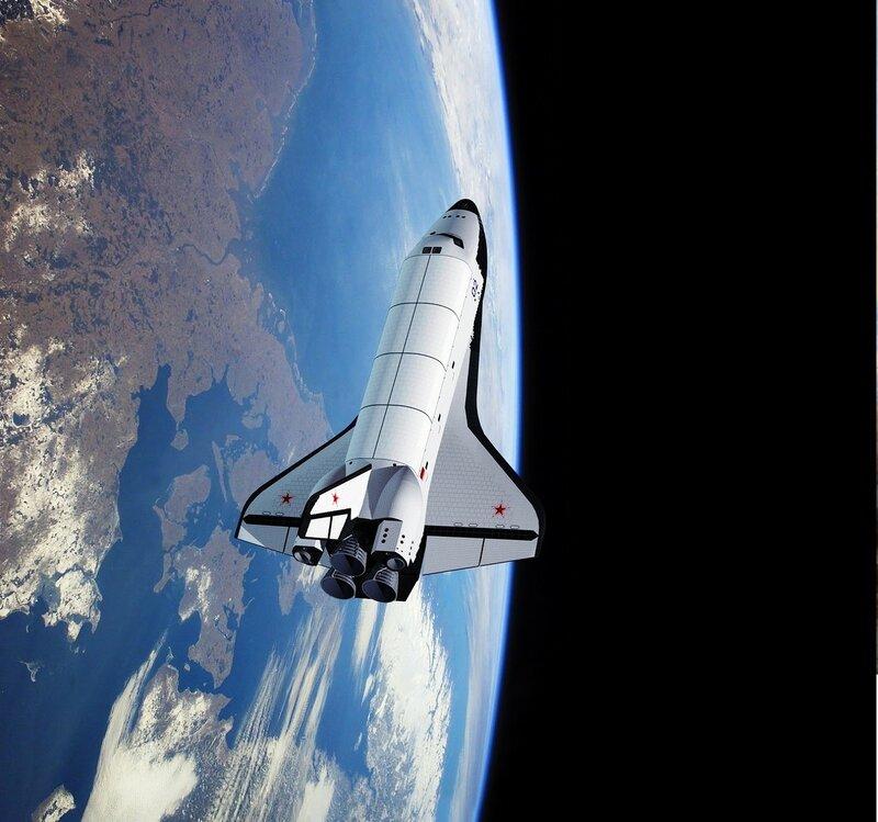 Пилотируемый орбитальный корабль Буран..jpg