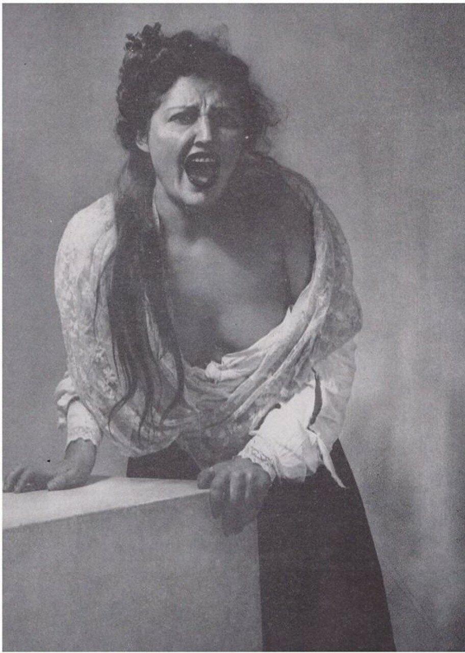 1936. «Мадонны и монстры». Крик