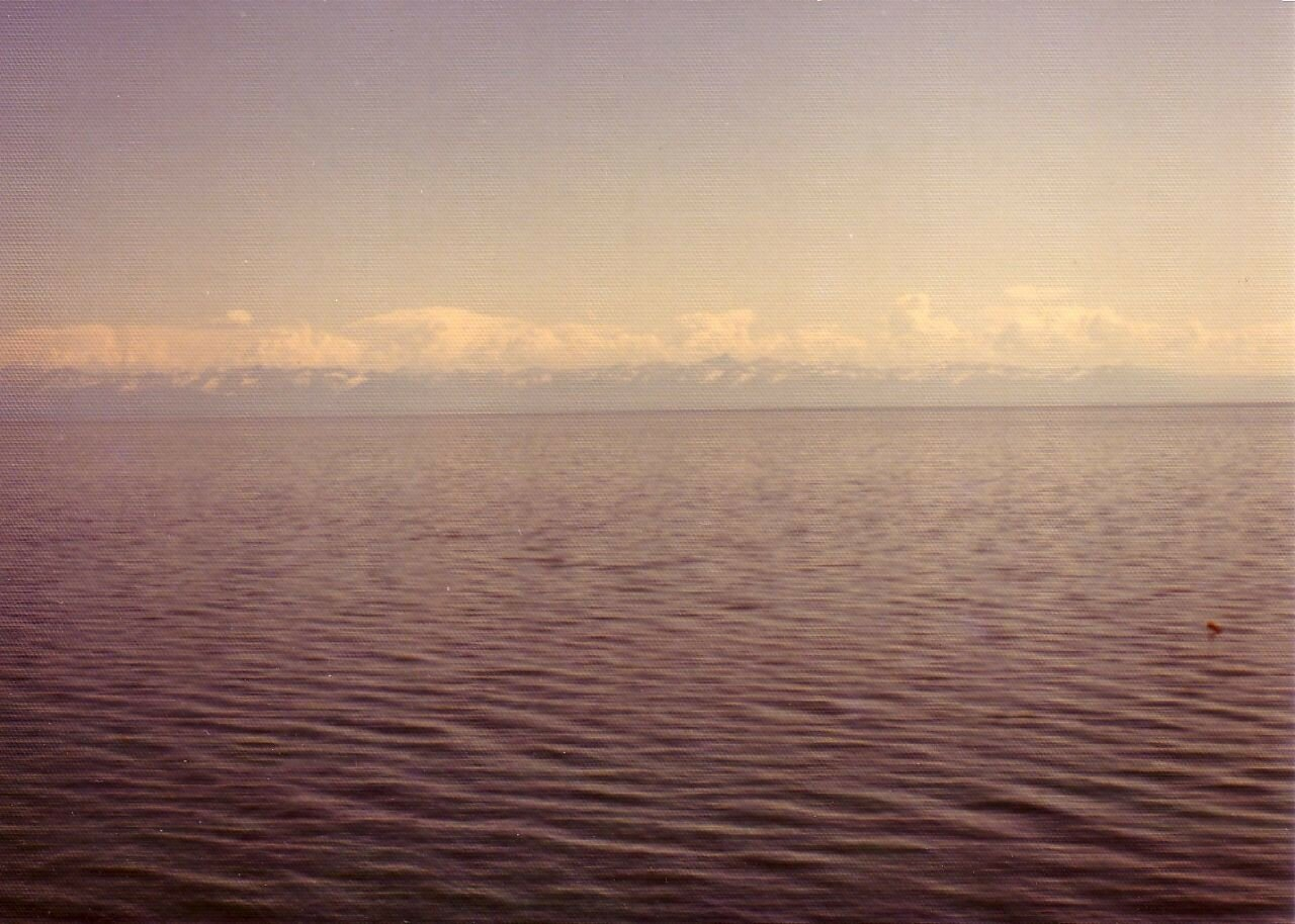 Байкал. Вид на озеро в районе Листвянки