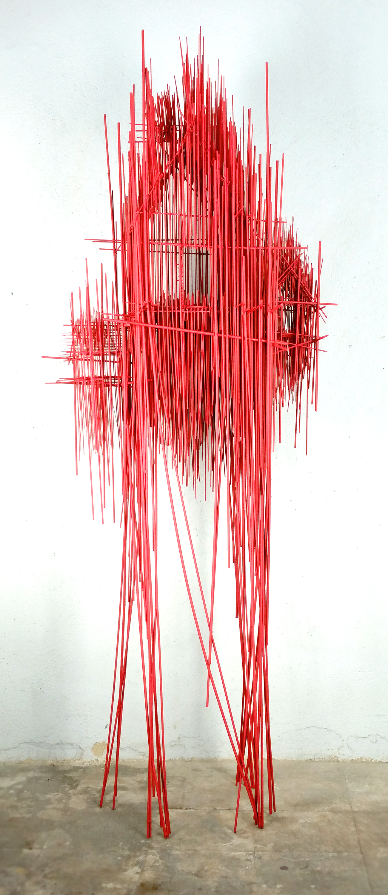 New Architectural Sculptures by David Moreno Appear As Three Dimensional Drawings