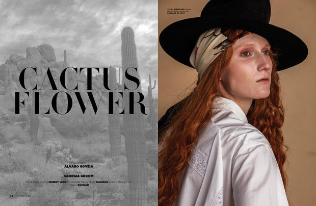 Cactus Flower by Alvaro Goveia for Design SCENE Magazine #22 Issue (8 pics)