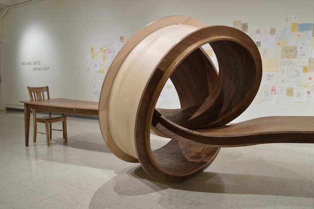 Wooden Tangled Table
