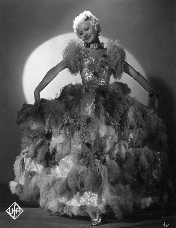 Lilian Harvey in 'Fanny Elssler'