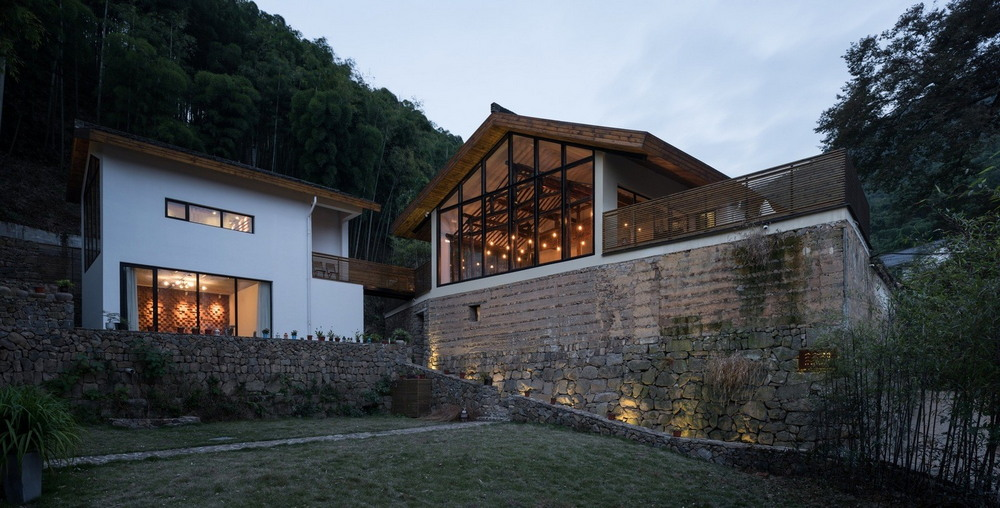 Старое и новое: загородная резиденция в Китае