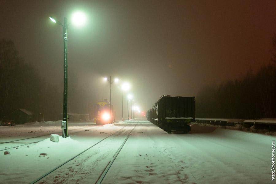 железная дорога в Сарове