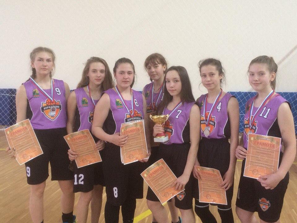 Кораблинские баскетболистки заняли 2 место на открытом первенстве среди юношей и девушек 2001 г.р. и моложе в г Ряжске