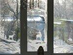 """Учащиеся 9а класса (рук. Наволокина Елена Валерьевна) - """"Морозные узоры на окне"""""""
