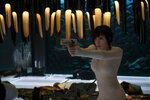 Scarlett Johansson plays The Major in Ghost in the Shell from Paramount Pictures and DreamWorks Pictures.