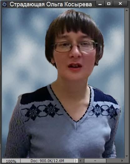Ольга Косырева на сером фоне3