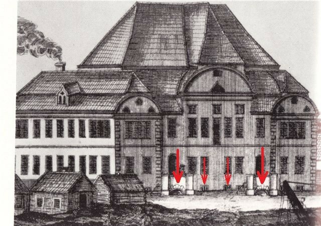 1716 год (гравюра. Алексей Зубов)