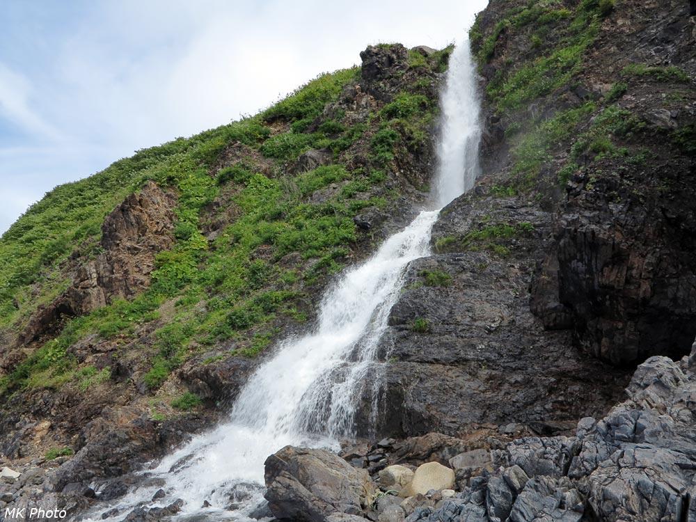 Водопад на р. Мелкая
