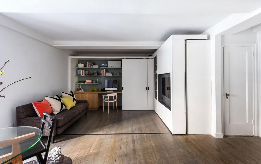 Квартира-траснформер в Нью-Йорке: 5 комнат на 36 кв метрах