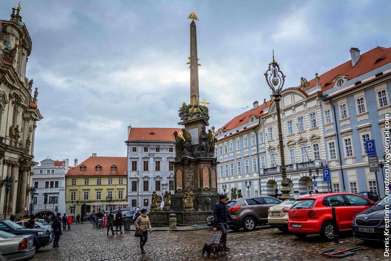 Прага, Чумный столб