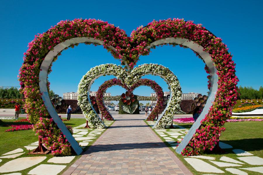 Знаменитые и самые красивые сады мира