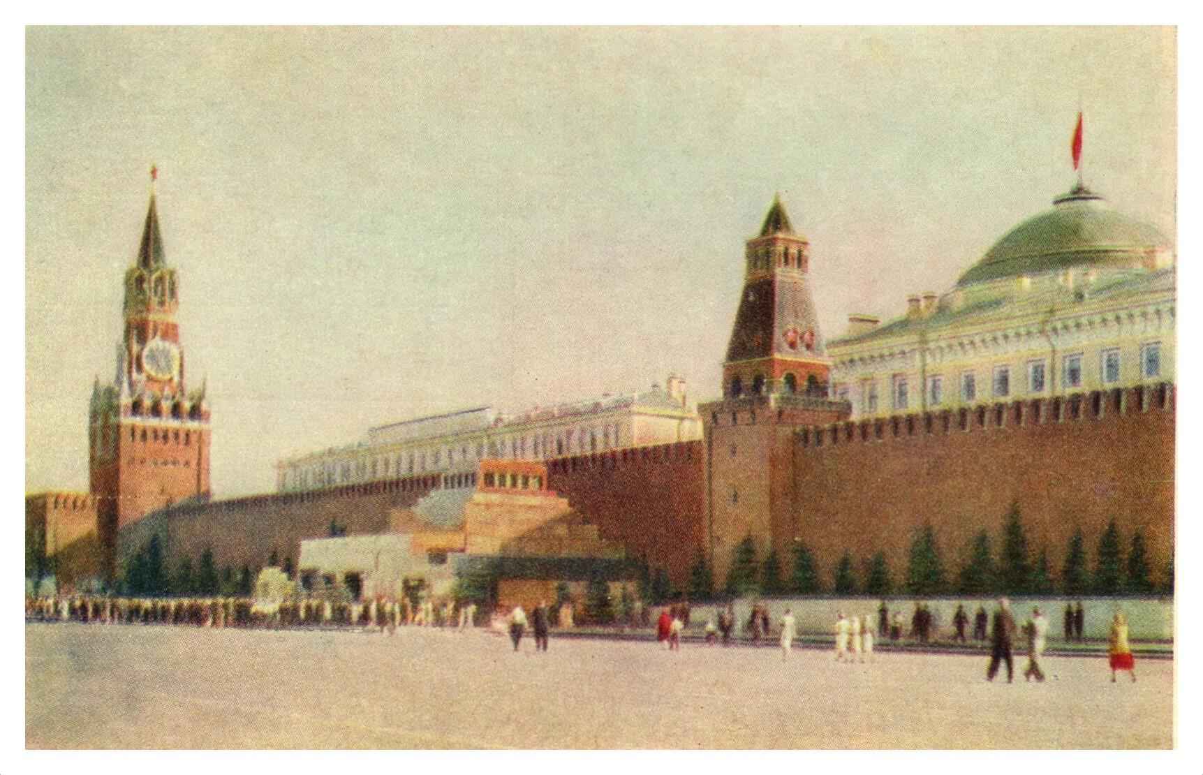ZAVODFOTO / История городов России в фотографиях: Москва в 1955 году
