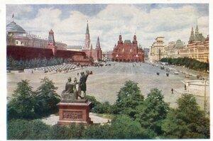 СССР, Москва. Красная площадь. ИЗОГИЗ, 1960, 275 тыс.jpg