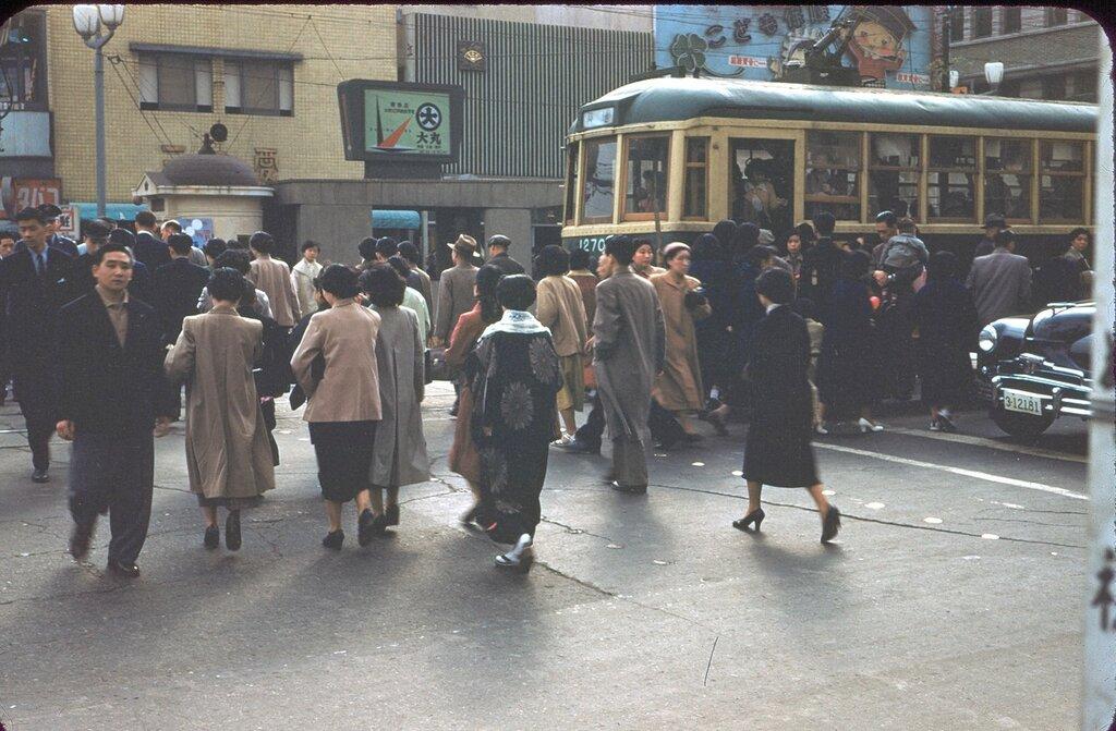 Tokyo Street Scene,1954.