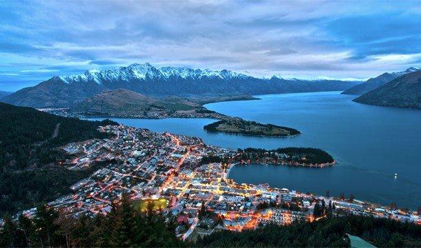 20. Skyline Restaurant (Квинстаун, Новая Зеландия) К сожалению, возможность посетить Новую Зеландию