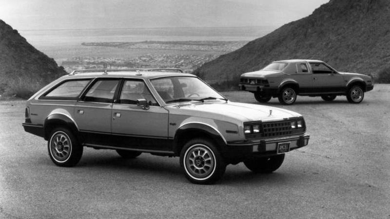 AMC Eagle К концу 70-х компания пребывала в кризисе. Устаревшие модели и скудный выбор агрегатов, ко