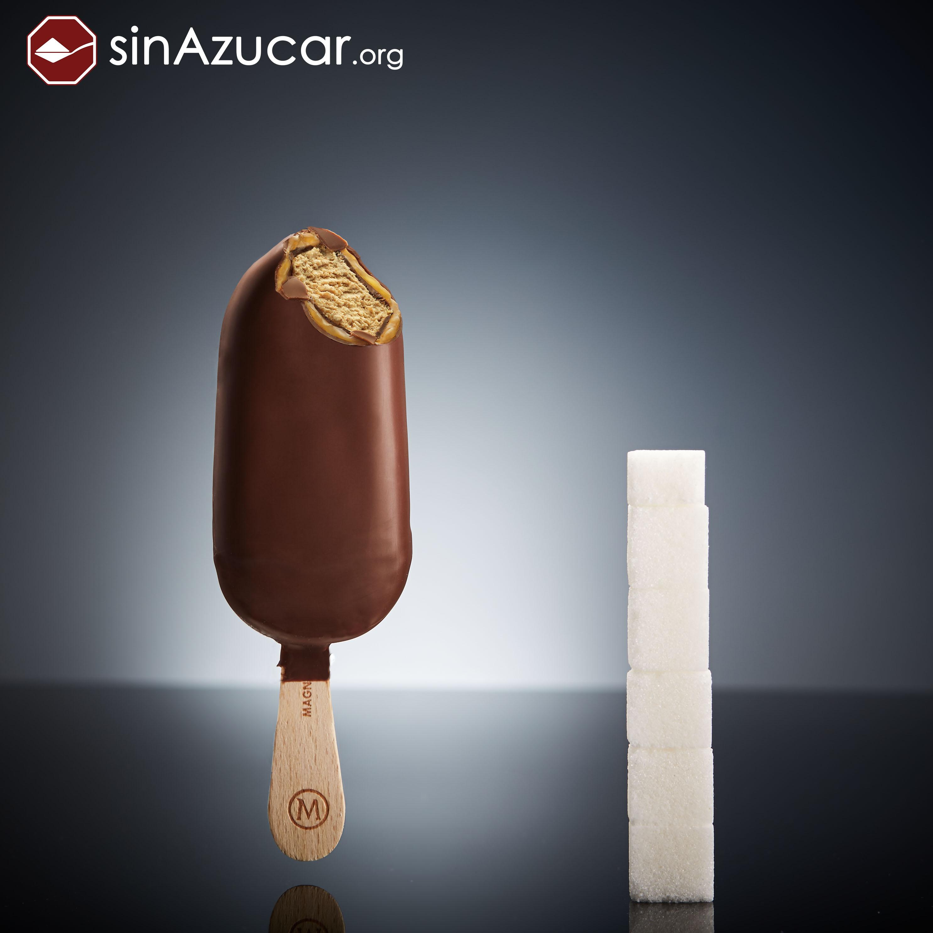 Мороженое Magnum (в России — «Магнат»).
