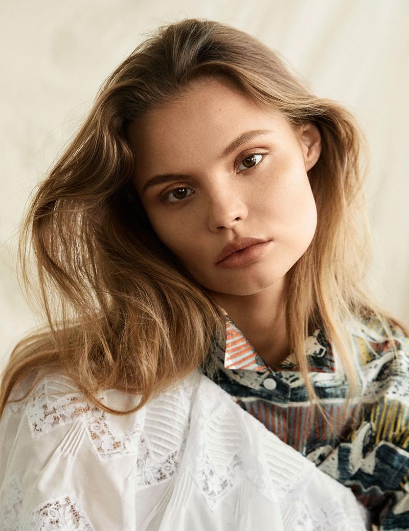Магдалена Фраковяк в Harper's Bazaar