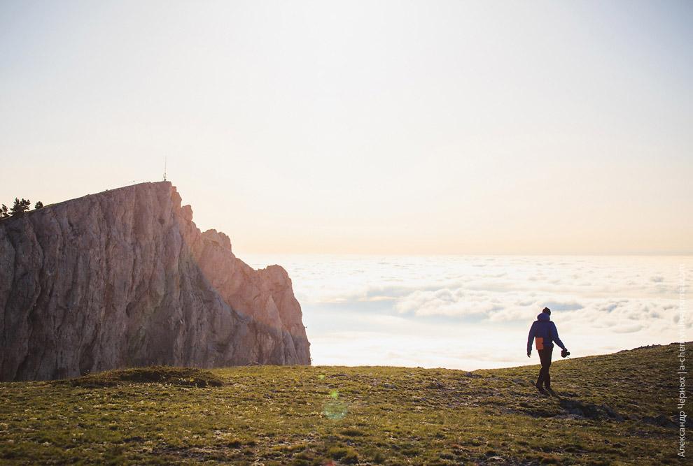 Шаан-Кая и море облаков:
