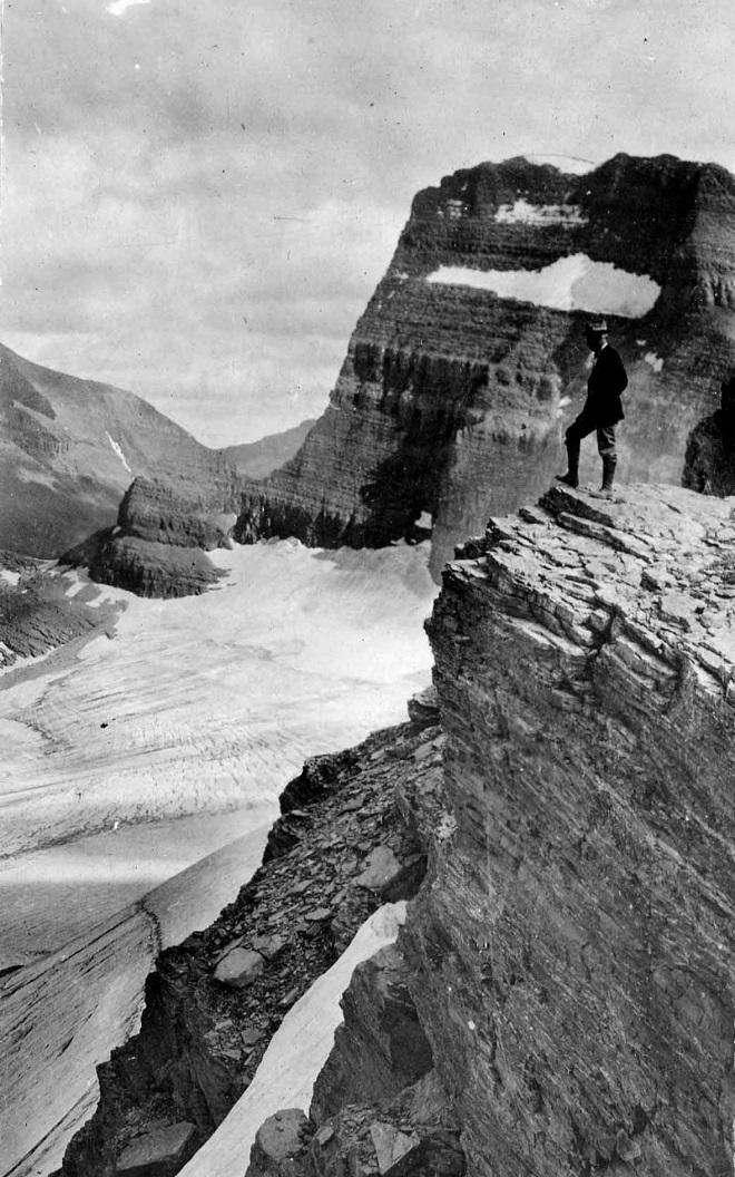 Ледник Гриннелл, Монтана — 2008 Ледник неуклонно таял на протяжении многих лет, потеряв около 40 % с
