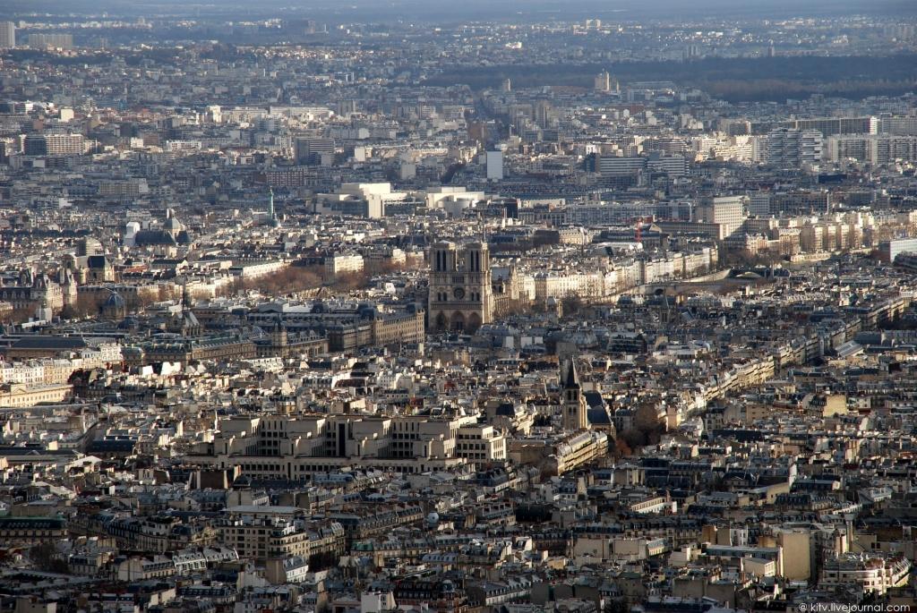 22. Собор Парижской Богоматери, Notre Dame de Paris. Латинский квартал.