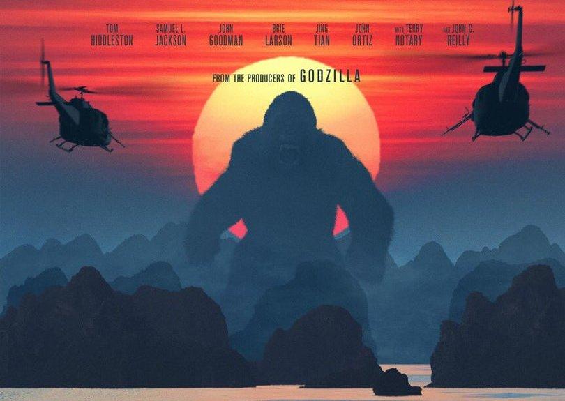 Размещен новый эпический трейлер фильма «Конг: Остров черепа»
