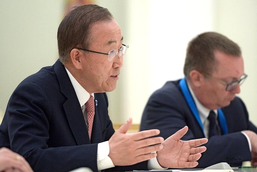 Генерального секретаря ООН подозревали вмногомиллионной взятке