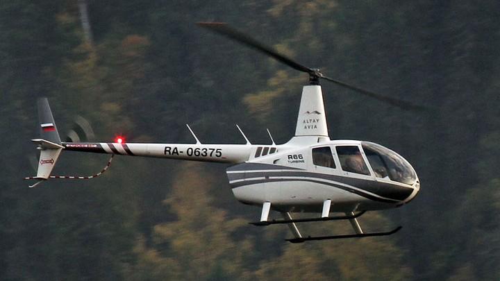 Обслуживавшая упавший наАлтае вертолет компания сообщила оего исправности
